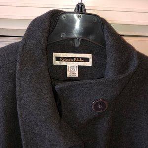 Kristen Blake Gray wool coat